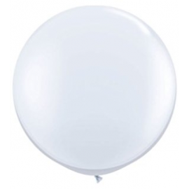 Globo gigante blanco Qualatex
