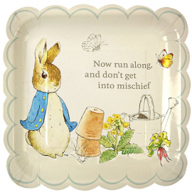 Platos grandes Peter Rabbit