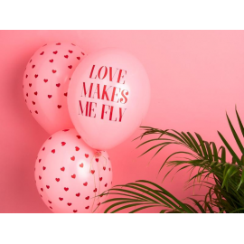 "Globos ""Love makes me fly"""