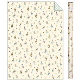 Pack 2 rollos de papel Peter Rabbit