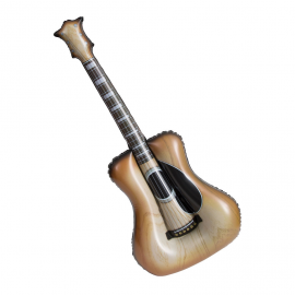 Guitarra grande inflable