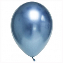 Globos chrome azul