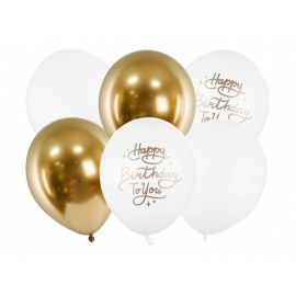 Pack globos Happy Birthday